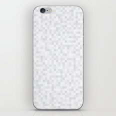 White Cubism iPhone & iPod Skin