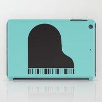 piano iPad Cases featuring Piano by Tony Vazquez