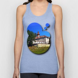 Waldenfels castle, south side Unisex Tank Top