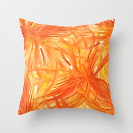 Palmeras Throw Pillow