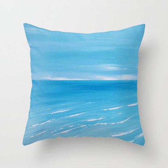 Coastal Front Throw Pillow