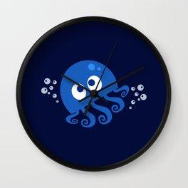 Bubbly Octopus Wall Clock
