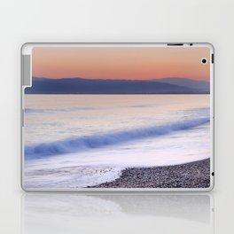 Pink waves. Sunset Laptop & iPad Skin