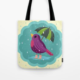 Rainy Days Are Still Good Days Tote Bag