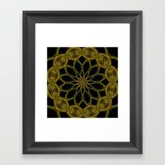 Kaleidoscope 'RK3 SQ' Framed Art Print