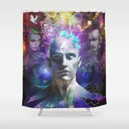 Pothead Shower Curtain