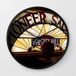 Pioneer Saloon  Wall Clock