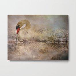 I Am of the Swan Metal Print