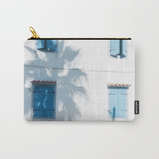 Blue windows and a palm Carry-All Pouch