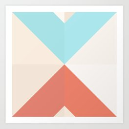 Geometric Pattern XII Art Print