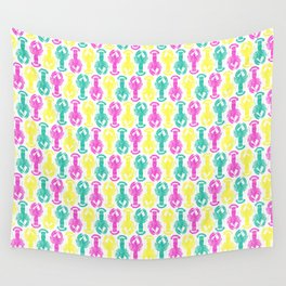 Neon Lobster 01 Wall Tapestry