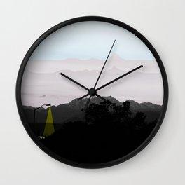 Under a Watchful Sky Wall Clock