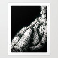 Manccordion Art Print