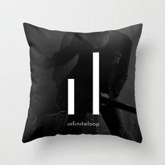 infiniteloop art Throw Pillow