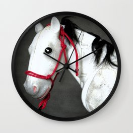 Old Gray Mare Wall Clock