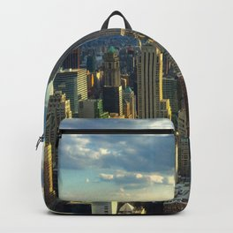 View Of New York City Backpack