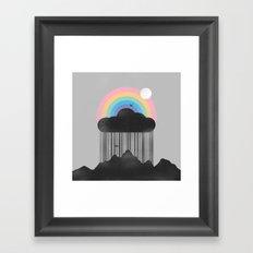Beyond the Rain Framed Art Print