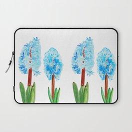 blue hyacinth Laptop Sleeve