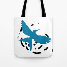 MockingJay Revolution - Blue Tote Bag