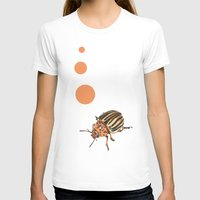 insect T-shirts featuring Insect by Chiara Martinelli Creations