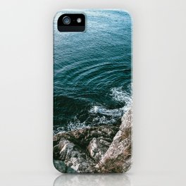 Look Down iPhone Case