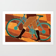 These Boots Art Print