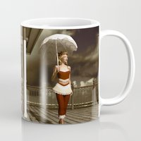 scandal Mugs featuring The victorian scandal by Britta Glodde