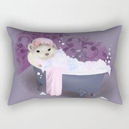 Bubble Bath Joy Rectangular Pillow