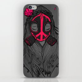 War and Peace (GREY) iPhone Skin