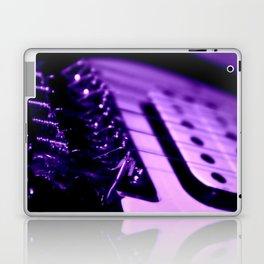 Guitar in Purple fine art photography Laptop & iPad Skin