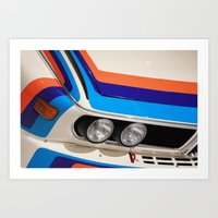 bmw Art Prints featuring BMW CSL by Internal Combustion