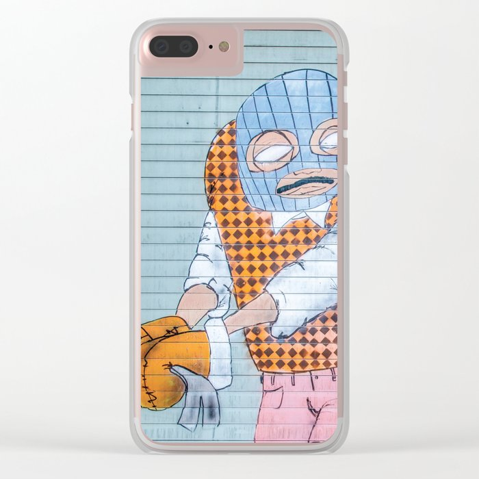 Breakin' and Enterin' Clear iPhone Case
