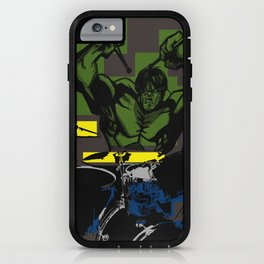 Smash the Drums... iPhone Case