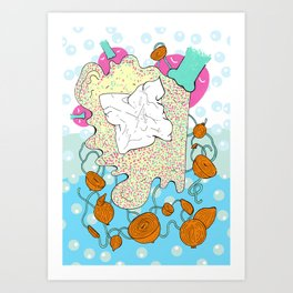 Onion Bogies II Art Print