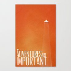 Unidentified Flying Adventure Canvas Print