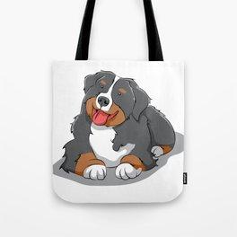 bernese mountain dog Puppy Doggie Cute Comic Gift Tote Bag