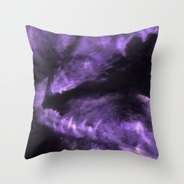 Abstract teeth Throw Pillow