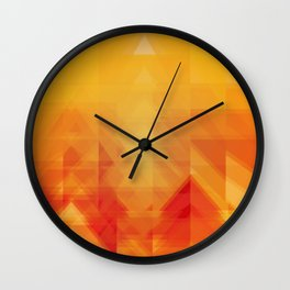 Elements - Fire Wall Clock