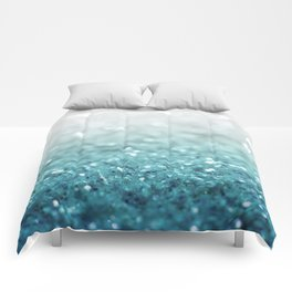 MERMAID GLITTER - MERMAIDIANS AQUA Comforters