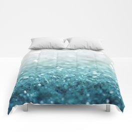 MERMAID GLITTER - MERMAIDIANS AQUA Comforters