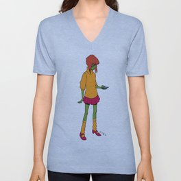 Elling as Velma Unisex V-Neck