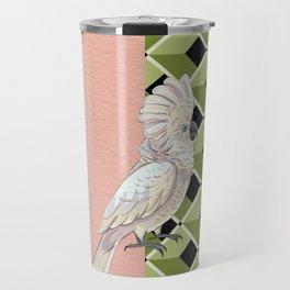 Cockatoo Vibes Travel Mug