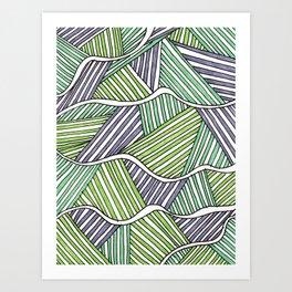 fibers (4) Art Print