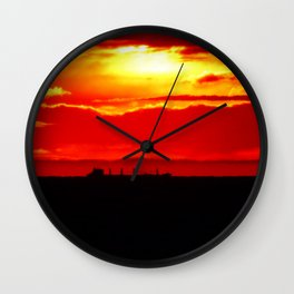 Ship under the Sun Wall Clock