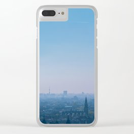 Above Amsterdam Clear iPhone Case