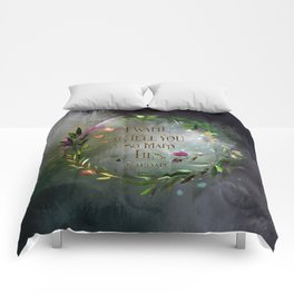 I want to tell you so many lies. Cardan Comforters