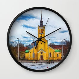 Tallinn art 5 #tallinn #city Wall Clock