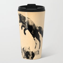 The quick brown fox jumps over the lazy dog Travel Mug