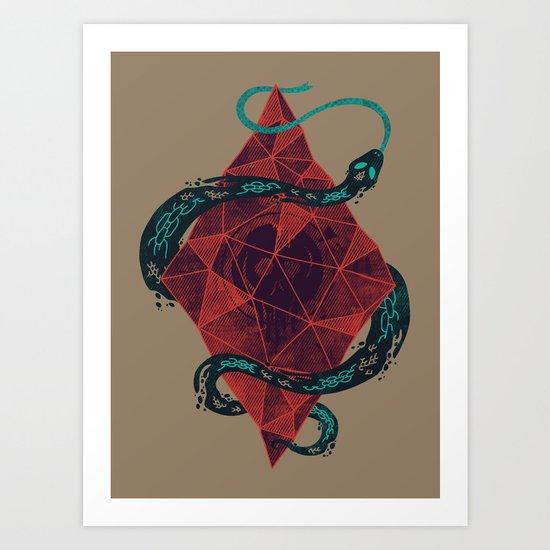 Mystic Cystal Art Print