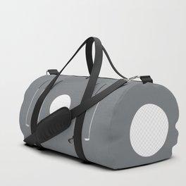Golf Clubs and Ball Duffle Bag